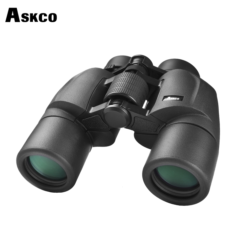 Askco Military HD 8x40 Binoculars Professional Hunting Telescope Zoom High Quality Vision No Infrared Eyepiece Black цена и фото