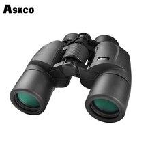 Askco Military HD 8x40 Prismáticos Telescopio de Caza Profesional Zoom Visión de alta Calidad Sin Ocular Infrarrojo Negro