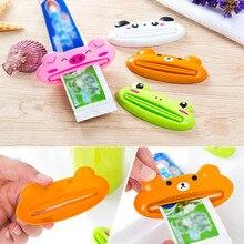 Симпатичные животные зубная паста соковыжималка товары для дома ванная комната трубка дозатор мультяшный инструмент TN88