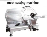 10 Inch Large Commercial Semi automatic Meat Slicer 110V/220V Frozen Lamb Beef Meat Slicing Machine Grinder 250ES 10