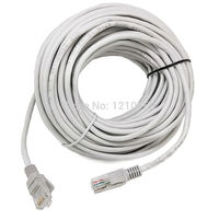 20M 65FT CAT5 RJ45 Ethernet Internet Network Patch Lan Cable Cord Communaications CABLE UTP Gold Plated