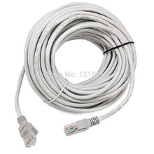 20M/65FT CAT5 RJ45 Ethernet Internet Network Patch Lan Cable Cord Communaications CABLE  UTP Gold Plated Cat5e Network Cable