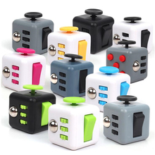 11color Fidget Cube Toys for Puzzles & Magic Gift AntiStress hot sale(China)