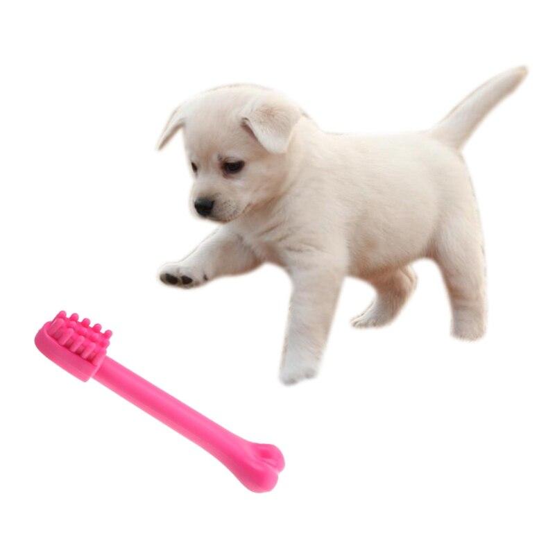 Cute Puppy Pet Dog Cat Dental Teething Healthy Teeth Chew Training Play Ball Toy