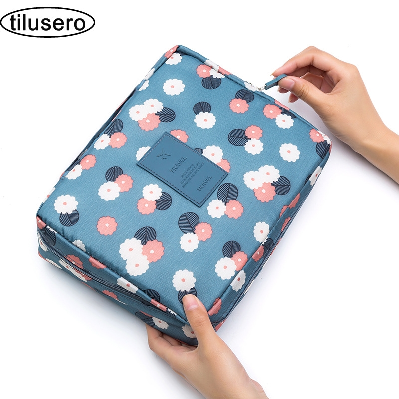 High Quality Multifunction Organizer Waterproof Portable Makeup Bag Travel Organizer For Toiletries Toiletry Kit T047