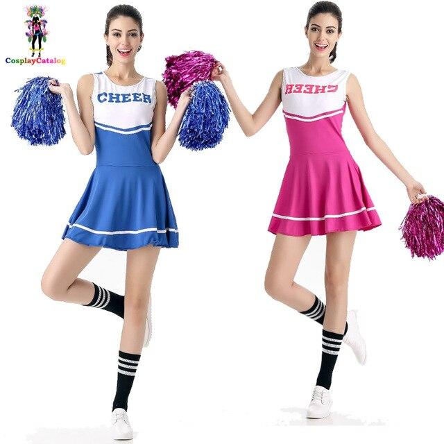 Neue 6 Farben Mädchen Aerobic Kostüm Sport Schule Mädchen Jubeln ...