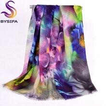 Чистая шерсть Шарфы для женщин новые Дизайн плюс Размеры шерстяной шарф Обертывания модные элегантные бренд пашмины Для женщин универсальные теплый зимний шарф шаль
