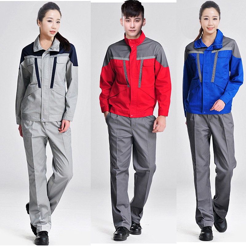 New Work Clothing Hooded Overalls Men Women Long Sleeve Coveralls Reflective Stripe Repairman Machine Welding Worker Uniforms4XL
