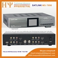Original Satlink WS-7990 4 Route DVB-T modulator  AV HDMI Four Router DM Modulator DVB-T AV HD  Digital RF Modulator
