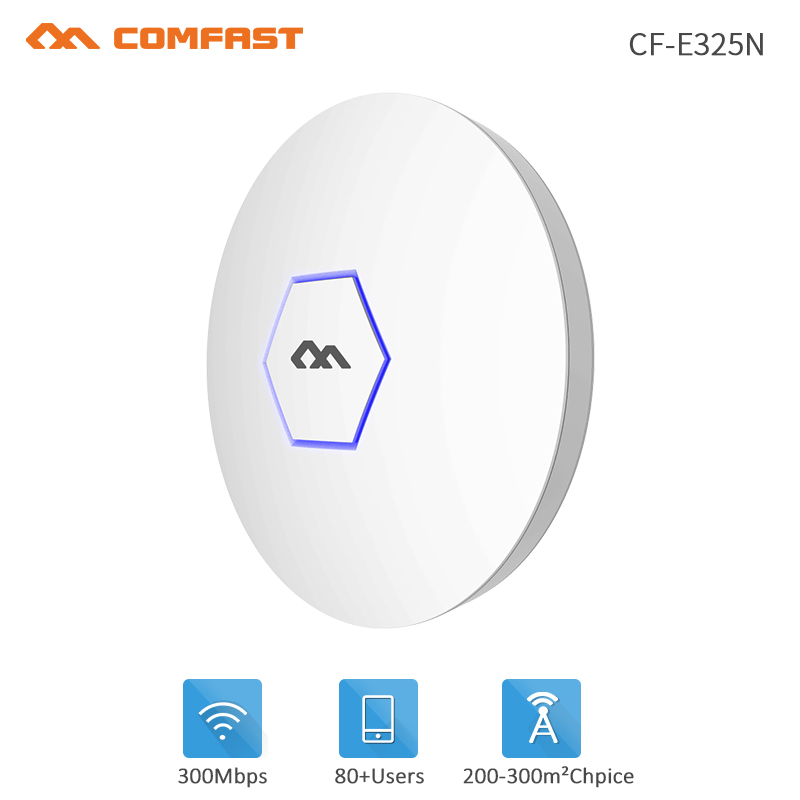 COMFAST Powerful 300M WiFi Ceiling Wireless AP 802.11b/g/n AR9341 Indoor AP 48V POE OPEN DDWRT Access Point Signal AP Bridge