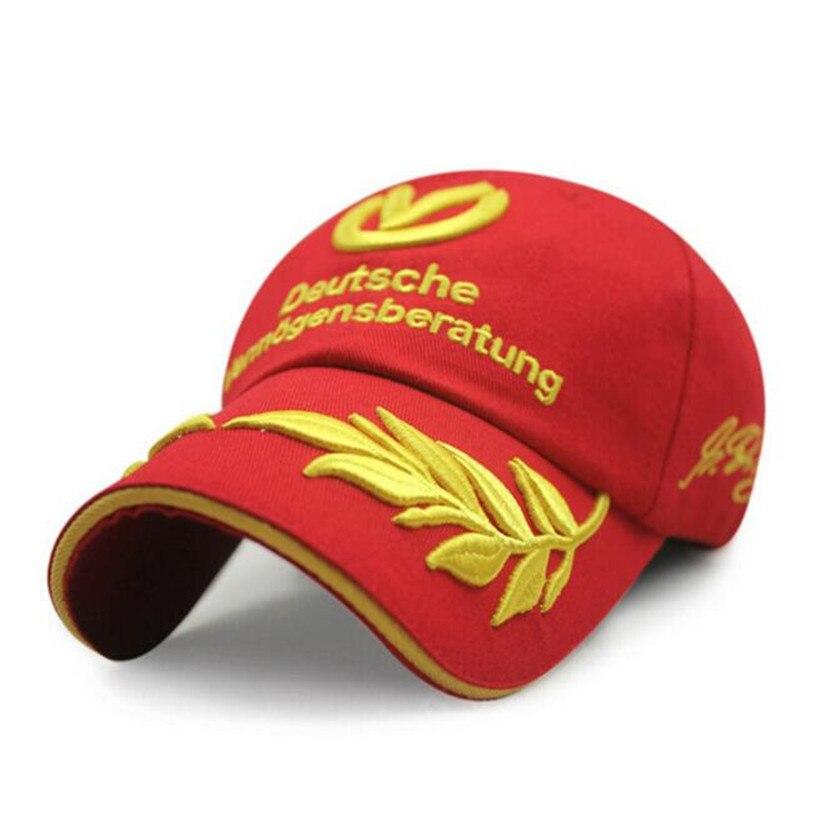 Dropwow Wholesale Black Red baseball cap 2017 men women hats F1 caps ... 35fad6c3e752
