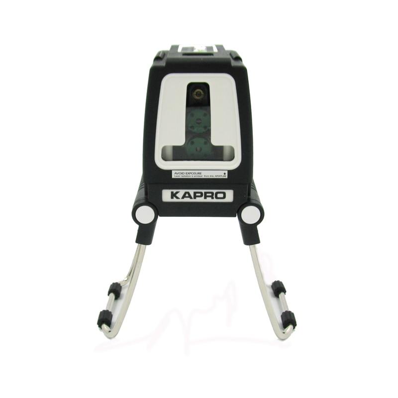 Kapro 515 540nm Горизонтальные и вертикальные лазерный уровень зеленый цвет точность 0.2 мм/м модель 872 г