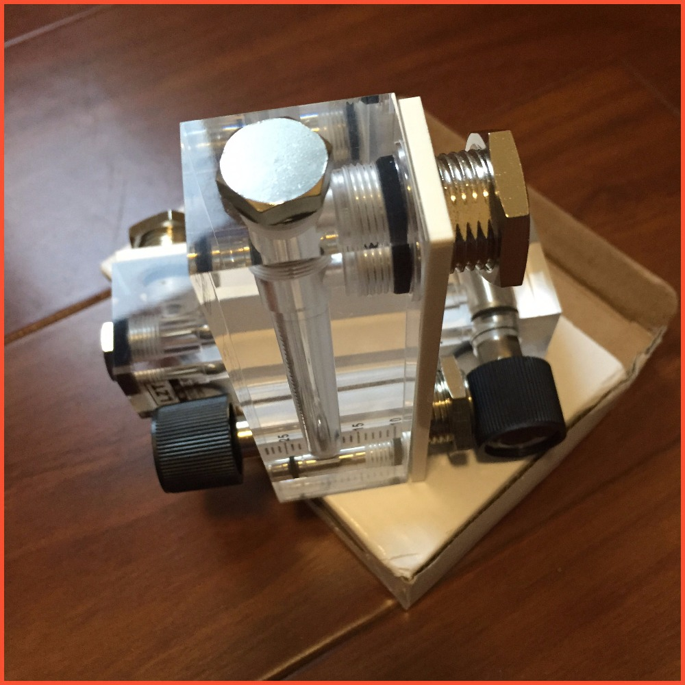 LZT-6T 1-12L/min Square Panel Type Gas Flowmeter Air Flow Meter rotameter LZT6T Tools Flow Measuring  lzt 6t 40 800ml min square panel type liquid flowmeter air flow meter rotameter lzt6t tools flow measuring