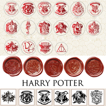 Delicate Sealing Wax Stamps Badge Blessing Twilight Harri Potter Hogwarts logo Star Wars Attack on Titan Totoro Wax Seal Stamp
