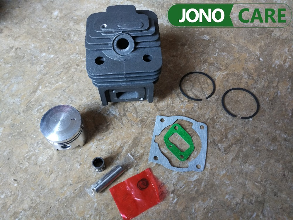 Cylinder Bore 44MM 52CC BC520 CG520 Brush Cutter Cylinder Piston Kit With Manifold Gasket Cylinder Gasket And Needle Bearing
