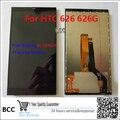 100% Новый ЖК-ДИСПЛЕЙ Для HTC Desire 626 626 W ЖК-Дисплей С Сенсорным Экраном Дигитайзер Asembly Бесплатная Доставка, Тест ok + Трек