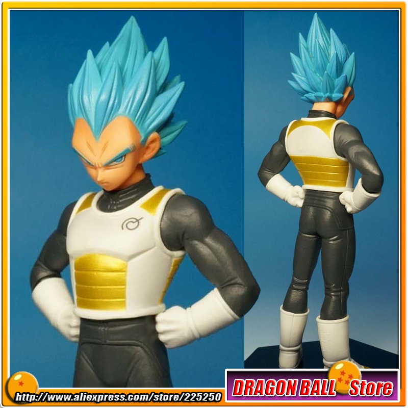 Japan Anime DRAGONBALL Dragon Ball Z Resurrection F Original BANPRESTO Chozousyu Figure Vol.2 - Super Saiyan God SS Vegeta
