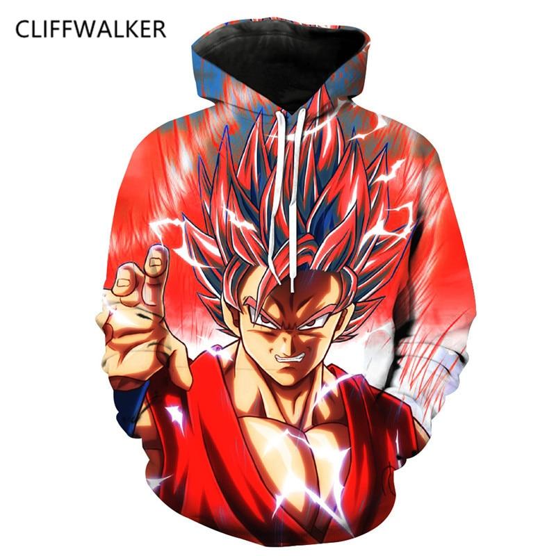 Pour Hoodies Dropshiping Dragon 3d Goku Pulls Fils Hommes Longues 0761 Hauts Sweatshirts Z Ball À De Manches Capuche Sport twXqw