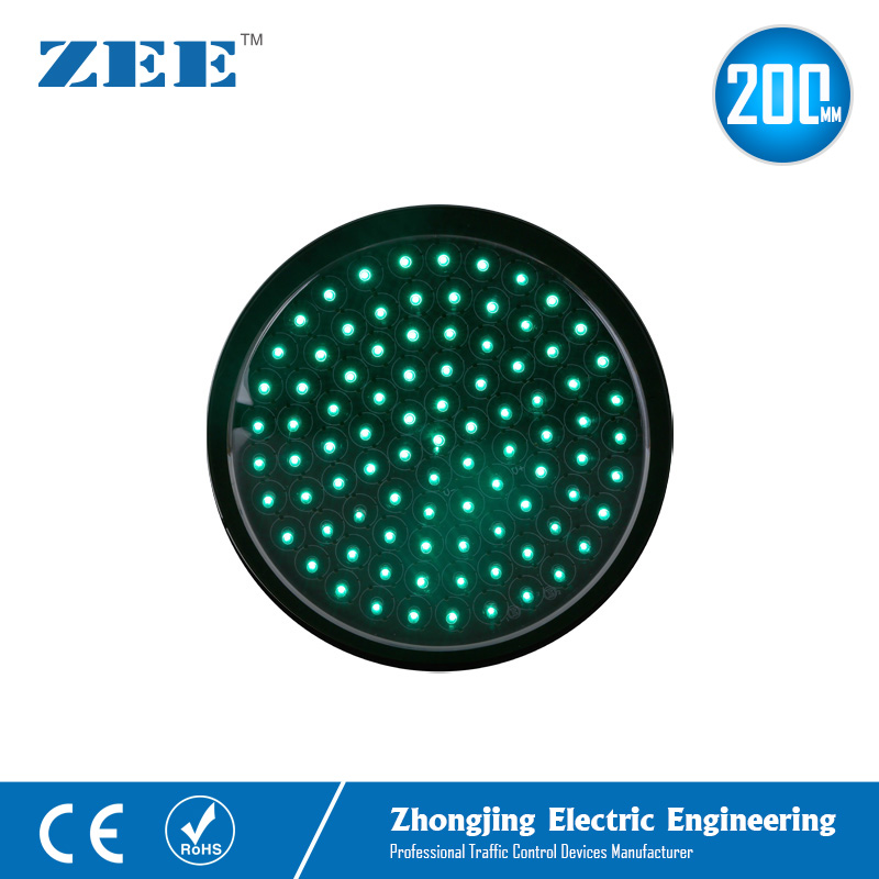 8 Inches 200mm LED Traffic Signal Light Module Green LED Replacement Lamps 220V 12V 24V Solar Module Lights