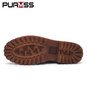 Image 4 - ฤดูใบไม้ร่วงใหม่ผู้ชายMartensรองเท้าBrogueรองเท้าผู้ชายรองเท้าหนังธุรกิจสบายๆรองเท้าผ้าใบ