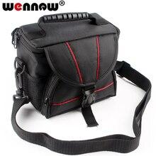 Dijital kamera çantası kılıf Sony a6400 6000 a6000 a6500 a6300 a5100 a5000 H400 H300 H200 HX400 HX300 HX200 HX100 RX10M4 RX10