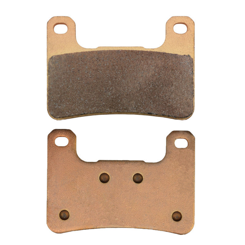 Motorcycle Copper Based Sintered Front Brake Pads Discs For KAWASAKI ( Z1000SX Non ABS ZR1000 / ABS ZX1000 ) ZX10R ZX-10R Z1000 sintered copper motobike disks fa379 motorcycle brake pads for kawasaki z 1000 sx zr 1000 gbf 2011