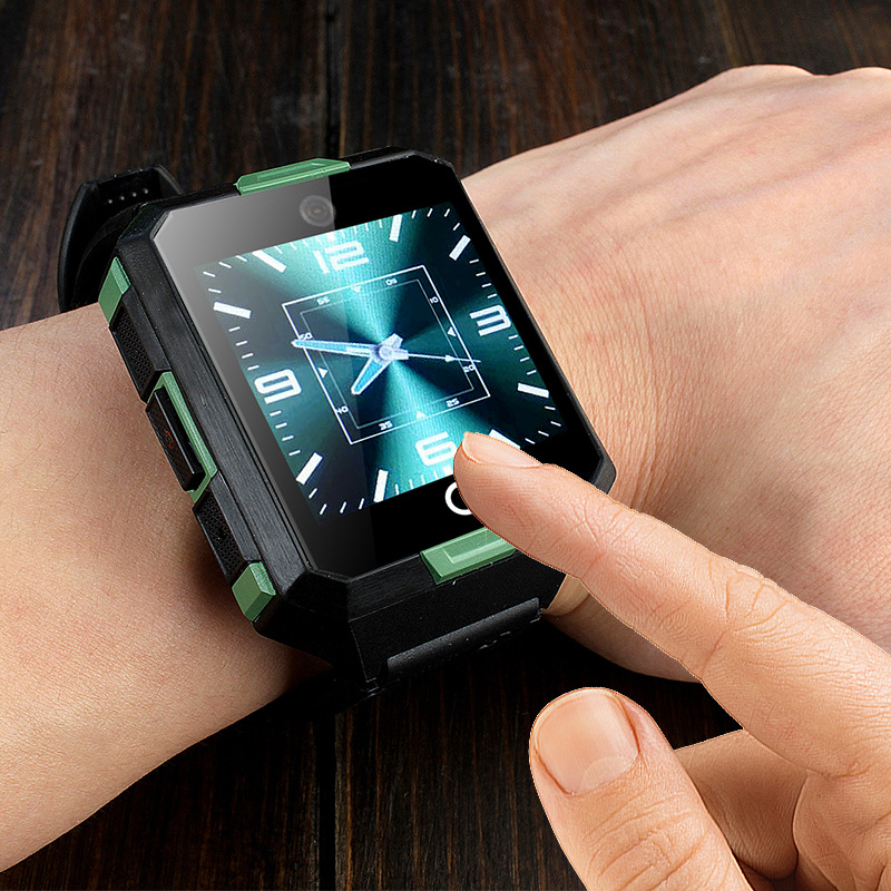 New M9 Smart Watch 4G WIFI Waterproof Android System Quad-core Blood Pressure Positioning Smartwatch IP67 Waterproof 850mAh