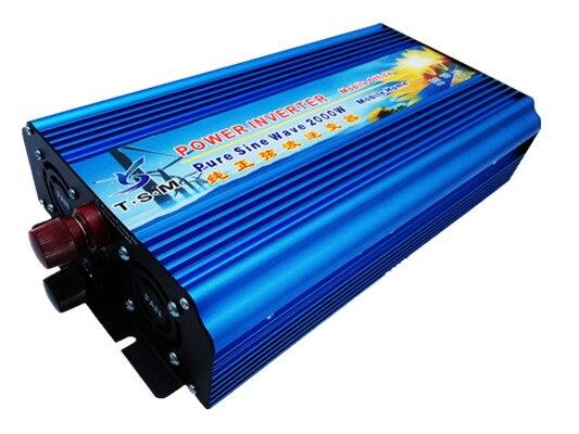 rated power 2000W dc12v/dc24v to ac110v/ac120v/ac220v 50hz/60hz pure sine wave inverter peak power up to 4000W мультиметр uyigao ac dc ua18