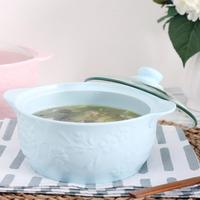 Adeeing 3.3L 1.6L Classic Ceramic Soup Stock Pot Used on Stove Cooking Pot Thermal Cooker