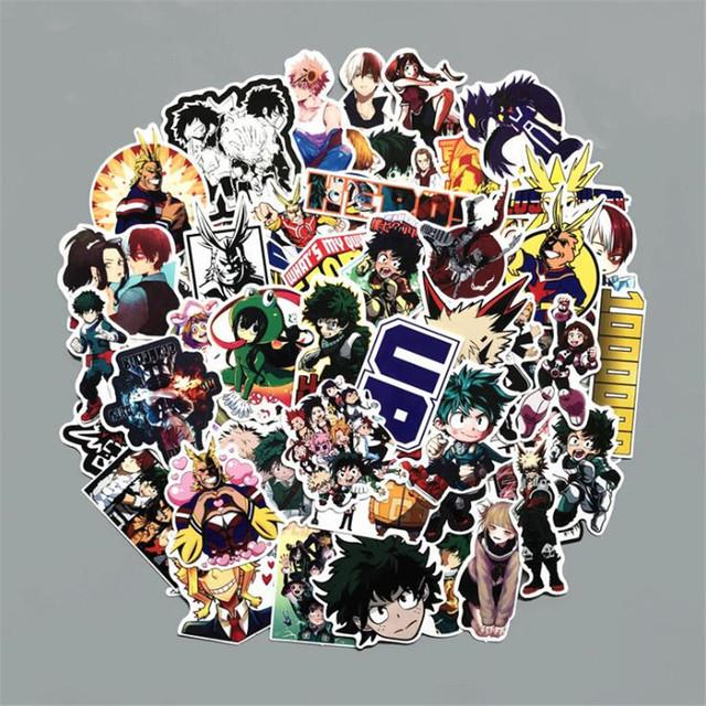 My Hero Academia Peripheral Sticker Set