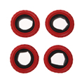 4pcs RC Racing Rally Tires D 68mm W 26mm wheel Diameter 52mm HSP HPI 8015