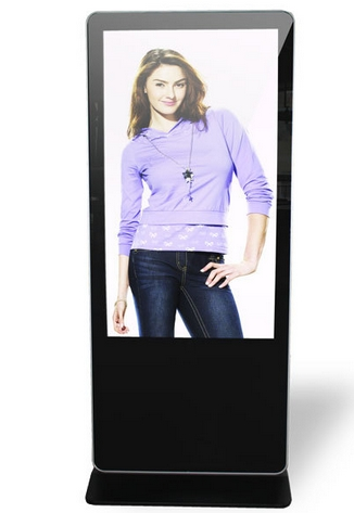 Samsung LG Panel Stand Alone Advertising  3G Wifi LCD Digital Signage Display Touch Totem