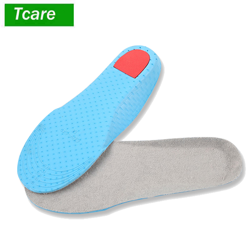 1Pair Foot Massage Athletic Shoes Insoles, Comfort Sports Foam Inserts, Breathable Odor Control insoles for Kids Girls and Women