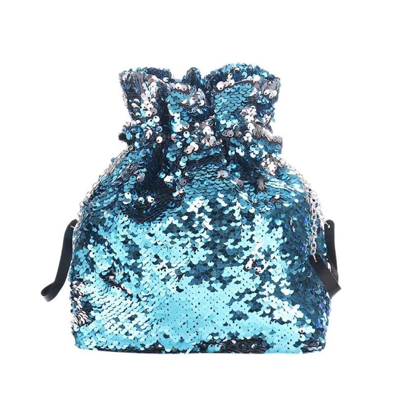 backpacks for girls teenagers Women Girl Sequins Glitter Mermaid Backpack School Travel Rucksack Shoulder Bag           O0620#30