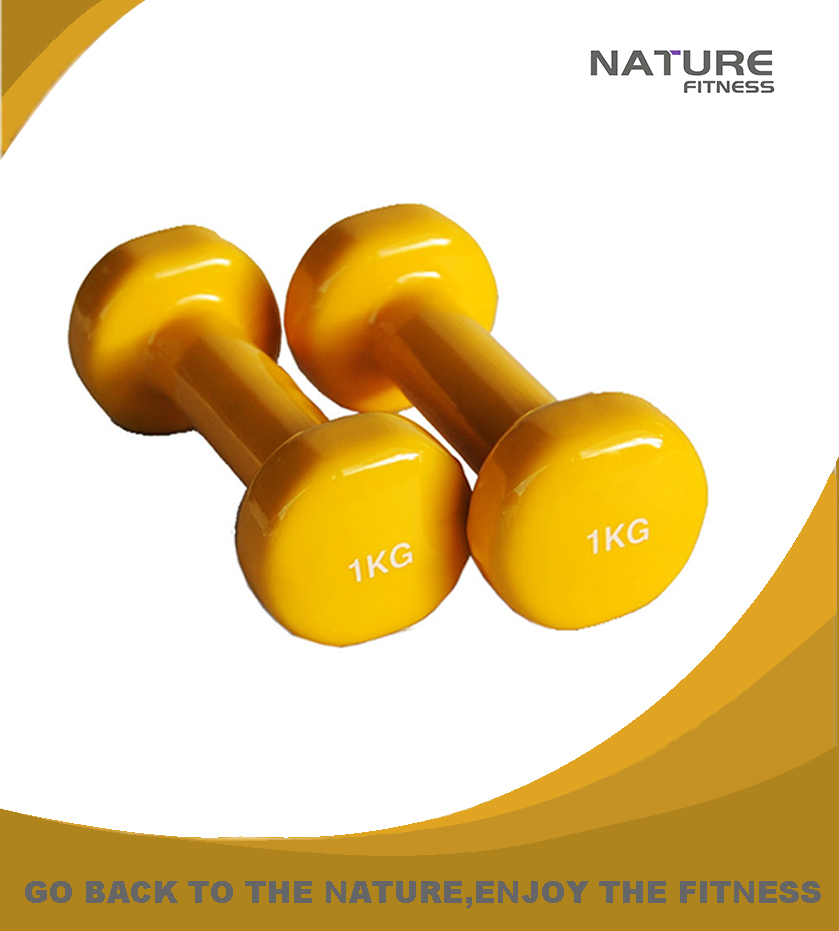 Pair of Neoprene Dumbbell Vinyl ,Fitness ,Dumbells