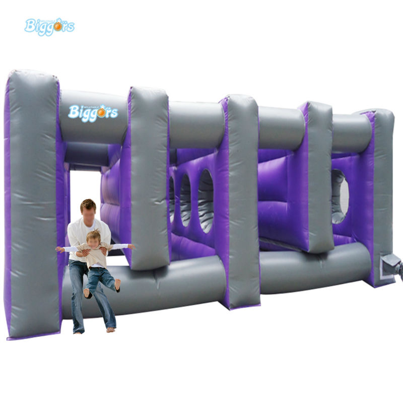 Inflatable Biggors Large Outdoor Sports Games Inflatable Haunted Maze Inflatable Maze For Rental inflatable biggors high quality inflatable climbing town kids toy climbing wall games for rental