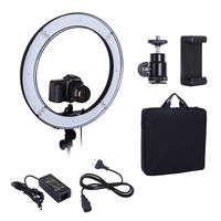 Camera Photo Studio Lighting Phone Video 55W 240PCS LED Ring Light 5500K Photography Dimmable Flash Ring Lamp [category]