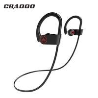 CBAOOO K8 Bluetooth наушники спортивные Беспроводной Bluetooth гарнитура бас стерео IPX4 Водонепроницаемый наушники с микрофоном для телефона