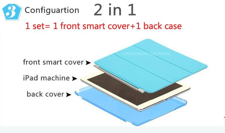 2 1透明ハードバックケース+ - タブレットアクセサリー - 写真 2