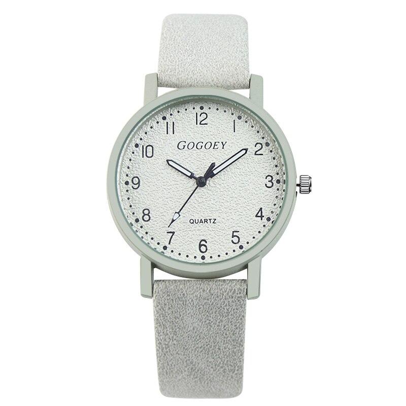 Gogoey Top Brand Women's Watches Fashion Leather Wrist Watch Women Watches Ladies Watch Clock Bayan Kol Saati Reloj Mujer #6