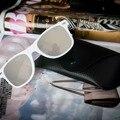 Nova Chegada 2016 Mulheres Homens Retro Dos óculos de Sol Do Vintage Espelho óculos de sol óculos Atacado Wiht Caixa De Vidro/Caixa