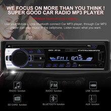 Radio Car Autoradio 1 Din Bluetooth SD MP3 Player Coche Radios Estereo Poste Para Auto Audio Stereo Carro Samochodowe Automotivo bomba estereo monterrey
