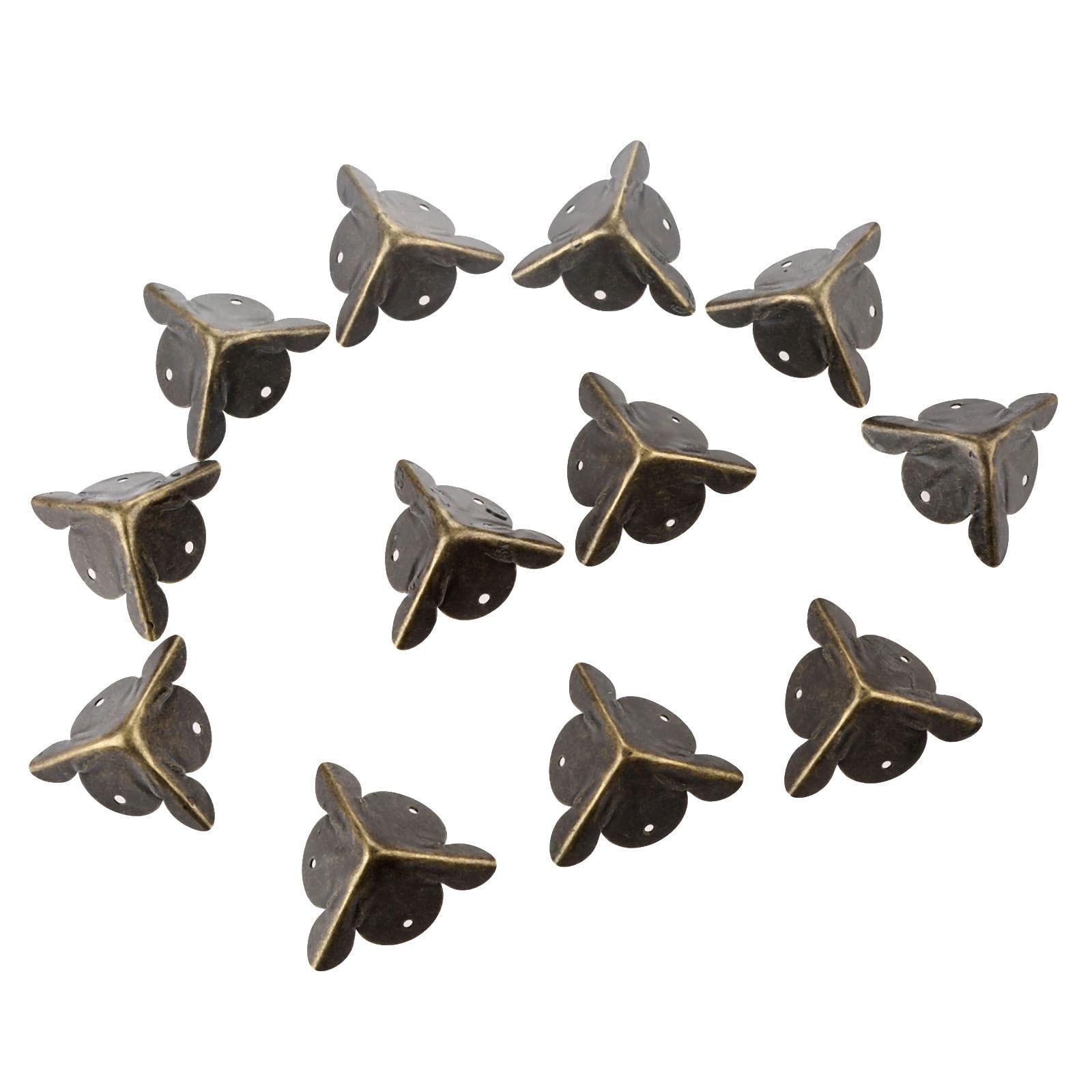 12pcs-antique-corner-bracket-jewelry-gift-box-wood-case-decorative-feet-leg-corner-decorative-protector-furniture-fittings-nails