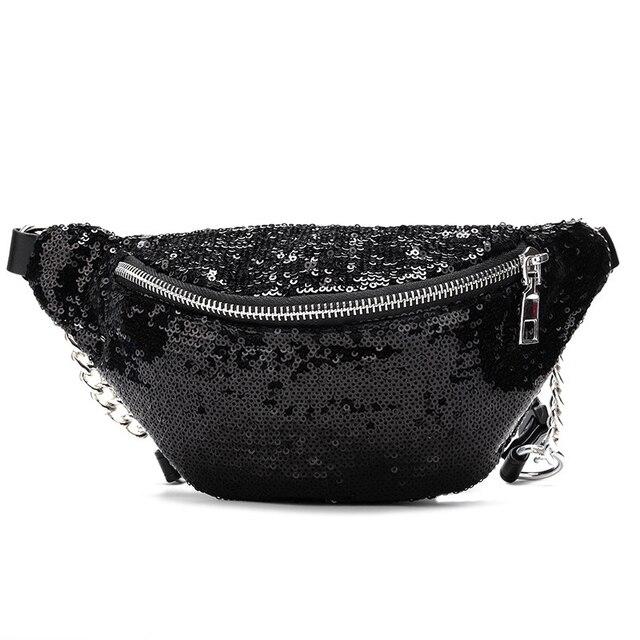 AIREEBAY Sequin Belt Bag  3