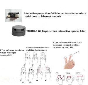 Image 4 - Eai ydlidar g4 lidar 멀티 터치 스크린 애니메이션 대형 스크린 대화 형 시스템 솔루션 대형 스크린 대화 형 시스템 스위트