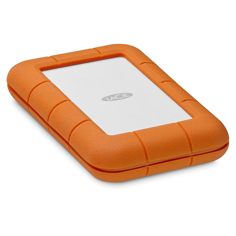 """Image 2 - Seagate LaCie Rugged  2TB 4TB 5TB Thunderbolt & USB 3.1 Type C Portable Hard Drive 2.5"""" External HDD for PC Laptop-in External Hard Drives from Computer & Office"""