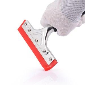 Image 5 - EHDIS Handvat Zuigmond met Rubber Blade Vinyl Auto Wrap Tool Huis Cleaning Tools Window Tint Glas Keuken Water Wisser Schraper