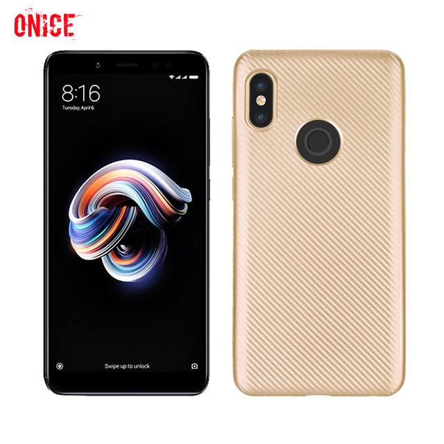 outlet store 89570 11cc8 US $2.77 25% OFF|Redmi Note 5 Pro Carbon Fiber Shockproof Phone Case on for  Xiaomi Redmi Note 5 Pro Case Cover Fundas Xiomi 6X Case 16 32 64 GB-in ...
