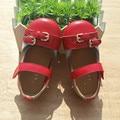 2017 nova primavera e verão modelos de couro das crianças shoes couro macio shoes mãe e filha shoes crianças casual shoes