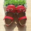 2017 nueva primavera y el verano los modelos de cuero de los niños shoes shoes shoes madre e hija de cuero suave niños casual shoes